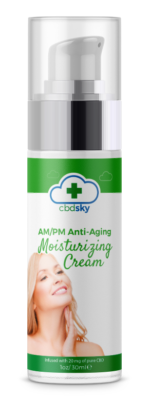 AMPM Anti Aging Moisturizing CBD Cream BEVERLY HILLS