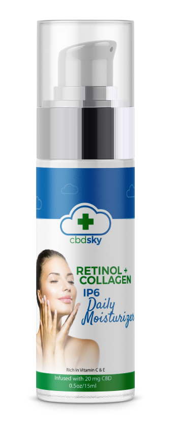 CBD Retinol Collagen IP6 Moisturizer