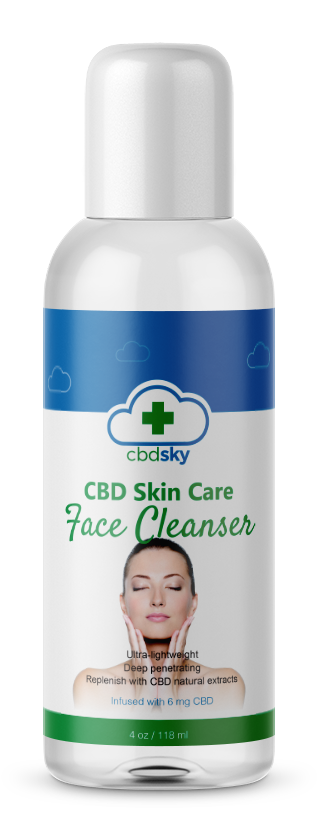 CBD Skin Care Facial Cleanser