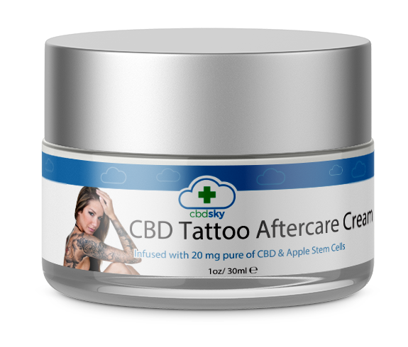 CBD Skin Tattoo Aftercare Cream BEVERLY HILLS