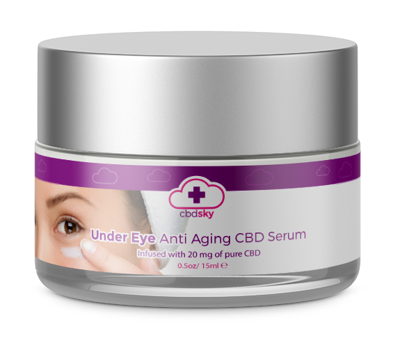 Under Eye Anti Aging CBD Serum BEVERLY HILLS