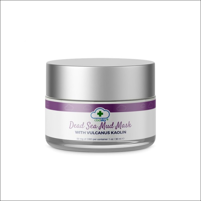 CBD Dead Sea Mud Mask Valcanus Kaolin BEVERLY HILLS
