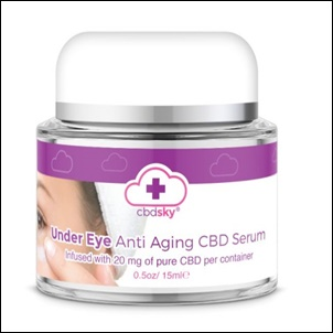 cbd under eye cream cote d'azure