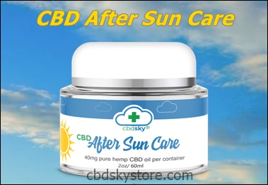 CBD AFTER SUN SKIN CARE